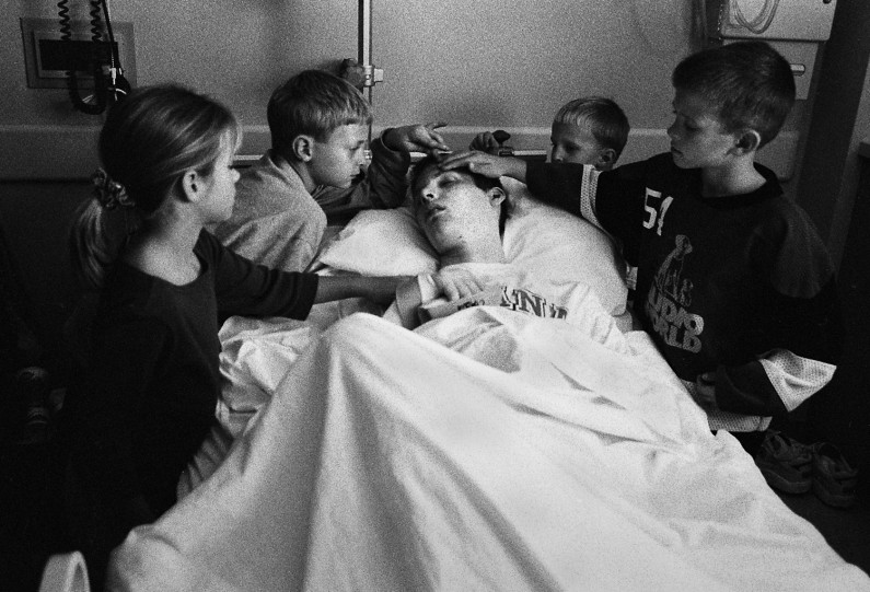 Jason returned to Jasper on Oct. 25, still in a coma, and was greeted by cousins and stepbrothers who tried to wake him.